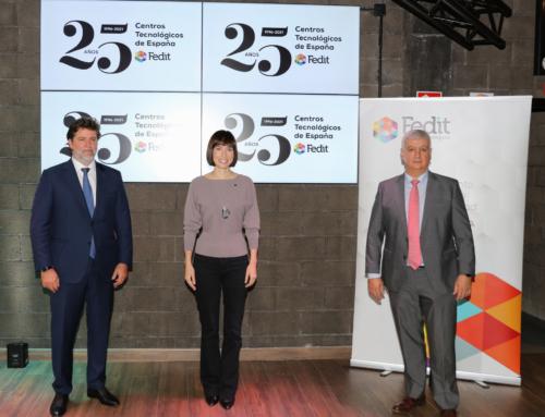 25 aniversario de los Centros Tecnológicos españoles presidido por la ministra  de Ciencia e Innovación